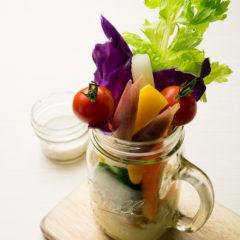 新鮮野菜のバーニャカウダ  680円