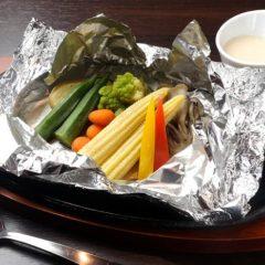 グリル野菜のバーニャカウダー 466円