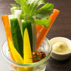 野菜スティック  380円