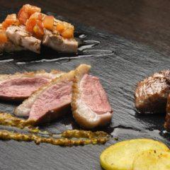 3種のお肉盛り合わせ 1,180円